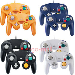 2Pack Wired NGC Controller Gamepad for Nintendo GameCube GC & Wii U Console $20.89