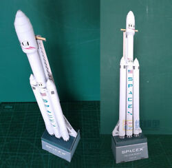 Falcon Heavy Spacex 3D Paper Model Puzzle Rocket Musk Fans New 2020 $9.75