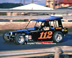 1980 Gary Balough at Super Dirt Week NY State Fairgrounds Speedway Photo