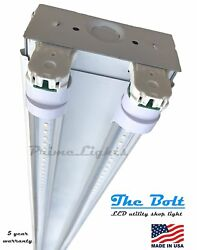 4' ft. 2 Lamp LED T8 Commercial Strip Shop Light - BRIGHT (QTY 100)= 2 Lamp T5HO $4,200.00