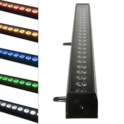 Wall Wash Bar Light RGBWA 24LED DMX512 Stage Color Mixing Strip Lamp Party DJ $132.98