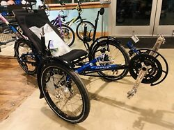 ICE 2013 Adventure 20 FULL Suspension Recumbent trike - With Extras