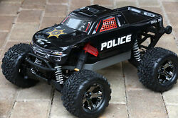Custom Body Police Style for Traxxas Stampede 110 Truck Car Shell TRA3617 $22.99