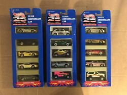 Hot Wheels 25th Anniversary Collectors Edition Car Sets Lot Ford Chevy Exotic