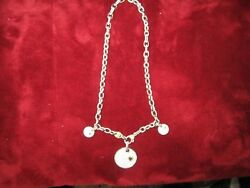 judith ripka sterling silver and 14k gold necklace 18 inch with sipfires