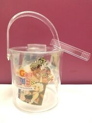 1950's Rockabilly Style She's Got Issues Make A Drink Plastic Ice Bucket
