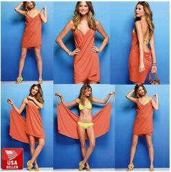 Sexy High Quality Women's Bikini Cover Up Beach Sarong Wrap Dress Swim Pool Wear $6.99