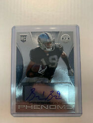 Brice Butler 2013 Totally Certified Rookie Auto Card #162 Serial #374499