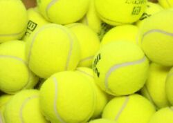 25 used tennis balls - Grade A - FREE N' FAST SHIPPING - Support our Mission