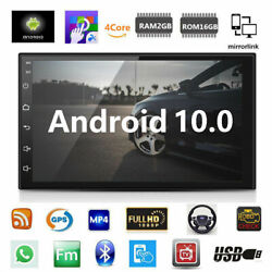 Android 9.1 Car Stereo GPS Navigation Radio Player Double Din WIFI 7