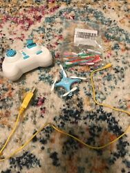 Remote Control Mini Quadcopter with Remote Charger And Replacement Blades $25.00