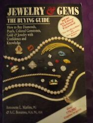 Jewelry & Gems The Buying Guide revised 4th Edition Matlins & Bonanno