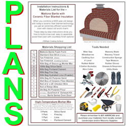 $1 PLANS - How To Make A Pizza Oven • How To Build An Outdoor Pizza Oven
