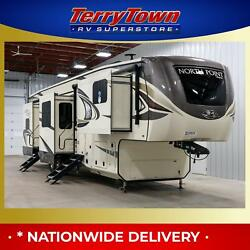 New 2019 Jayco North Point 383FKWS Front Kitchen Luxury 5th Wheel RV