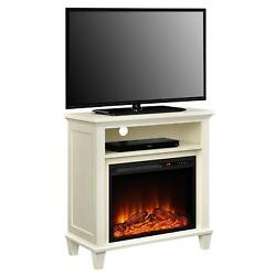 Lytton Electric Fireplace Accent Table TV Stand for TVs up to 32
