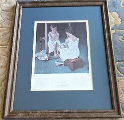 Professionally Framed & Matted Norman Rockwell Print