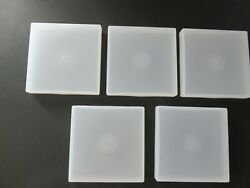 5x Small HD Plastic Container Case Storage Box Organizer 4 3 4quot; X 4 3 4quot; X 3 4quot; $12.99