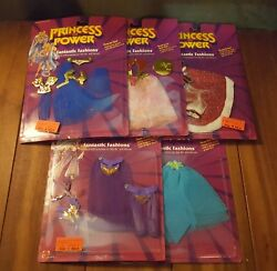 Vintage - 1985 Princess of Power - Fantastic Fashions - New Lot of 5 She-Ra
