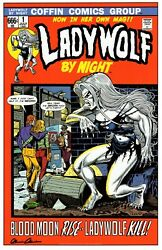 LADY DEATH KILLERS ART PRINT ~ WEREWOLF BY NIGHT HOMAGE ~ STEVEN BUTLER