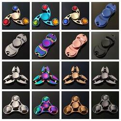 BUY ONE GET ONE FREE!!  Fidget Hand Spinner Finger Cube Toy Metal Stress Relief $2.99