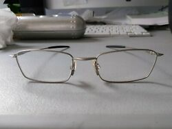 OAKLEY THREAD 6.0 SILVER AUTHENTIC EYEGLASSES RX FRAME LIGHT WITH CASE $99.00