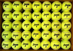 100 used tennis balls FREE SHIP amp; FREE RECYCLING support RecycleBalls nonprofit $38.95