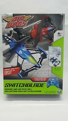 *Red Air Hogs Switchblade Ground amp; Air Race RC Remote Helicopter NEW Frequency A $9.95