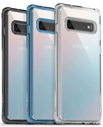 Samsung Galaxy S10 S10 Plus S10e Ringke FUSION Clear Shockproof Cover Case $9.99