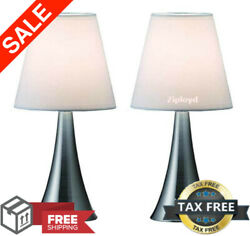 Modern Stand Table Lamps 2 Set Lamps Touch Sensor Bedroom Night Lamp Desk Lights