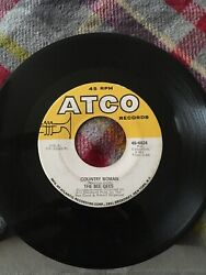 Pop 45 The Bee Gees - How Can You Mend A Broken Heart  Country Woman