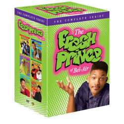 The Fresh Prince of Bel-Air: Seasons 1-6  (DVD 22-Disc Set) The Complete Series