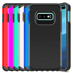 For Samsung Galaxy S10e Case Shockproof Armor Hard Hybrid Dual Layer Phone Cover