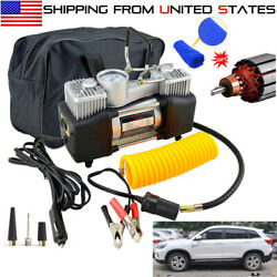 Heavy Duty 12V Portable 150PSI Car Tyre Auto Tire Inflator Pump Air Compressor $38.95