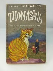 Paul Gallico THOMASINA THE CAT WHO THOUGHT SHE WAS GOD Children's Literature