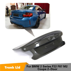 Carbon Fiber Rear Trunk Boot Lid For BMW F22 F87 220i 228i 230i M2 Coupe 14-18