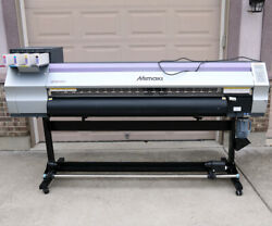 MIMAKI JV33-160 solvent printer NEW HEAD! mutoh roland graphtec summa gbc cutter $5,500.00