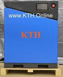 KTH-10HP 35 CFM 110 PSI VSDVFD Drive  Screw Air Compressor w Air Dryer