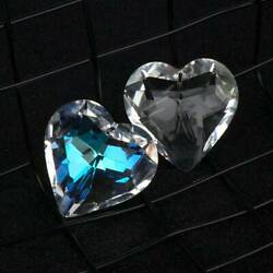 Heart Crystal 45mm Gift for Lovers Lighting Accessories Home Decor Crystal Prism