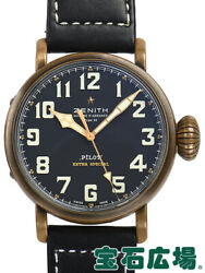 Zenith Automatic Men's Watch Pilot Type 20 Extra Special Bronze Auth