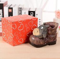 Novelty Shoe Shape Resin Pen Stand Holder Pencil Cup Container Desk Organizer $15.65