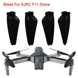 4pc Set Spare Parts CWamp;CCW Propeller Blade For SJRC F11 GPS RC Quadcopter Drone $10.21