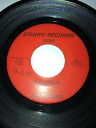 TIM STEVENS Whose Side Are You On  There She Is STEBRO 1001 45 VINYL 7