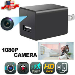 HD 1080P Hidden Mini Camera USB Charger Video Recorder Security Cam UP to 32GB $24.99