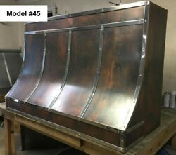 Copper Range Hood Motor Incl. Custom Sizes Available - Model #45