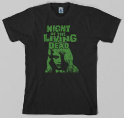 Night of the Living Dead T Shirt - george romero zombie dawn day horror