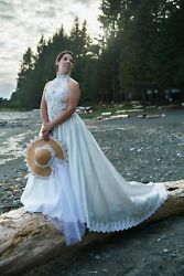 Wedding dress with hats beach style ... Redesign...