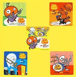 15 Jack O Lantern and his BOOgie Band Large Stickers Party Favor Halloween $2.50