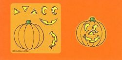 15 Make Your Own Jack O Lantern Pumpkin Stickers Party Favors $2.50
