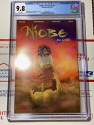 Niobe: She Is Life #1 CGC 9.8 (Stranger Comics 2015) Ashley Woods cover