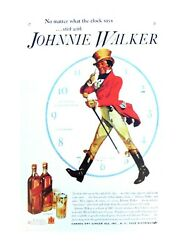 pub cafe home plaques Johnnie Walker Whiskey Pub Brewery metal sign $15.75